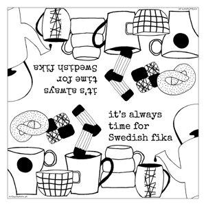 kaffeservett SWEDISH FIKA