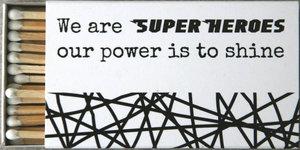 tändstickor SUPERHEROES