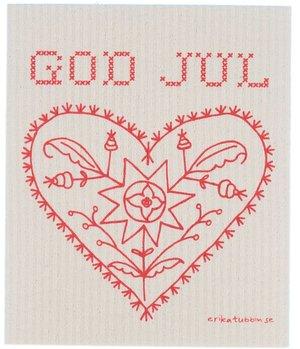 disktrasa ALLMOGE GOD JUL röd