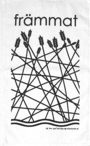 frottéhandduk FRÄMMAT svart 30x50 cm
