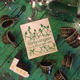 disktrasa FÖRTJYVINGEN grön
