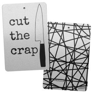 skärbräda CUT THE CRAP 20x30 cm